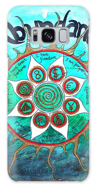 Abundance Money Magnet - Healing Art Galaxy Case by Absinthe Art By Michelle LeAnn Scott