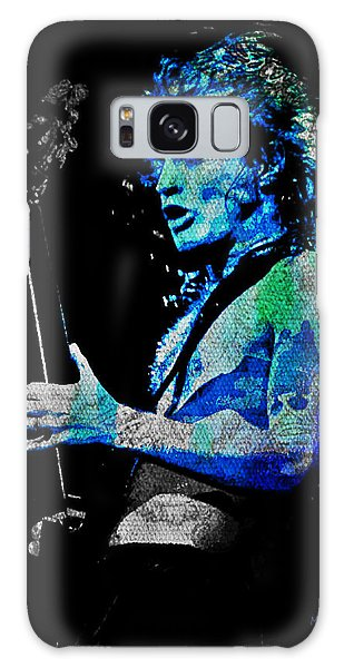 Ac/dc - Angus Young Galaxy Case by Absinthe Art By Michelle LeAnn Scott