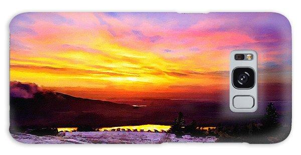 Acadia National Park Cadillac Mountain Sunrise Forsale Galaxy Case