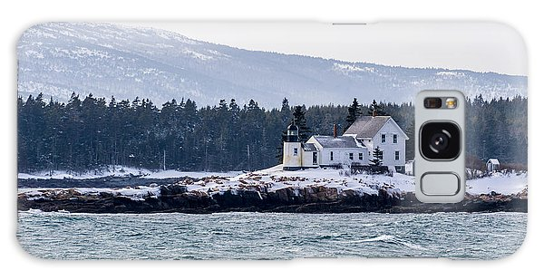 Acadia National Park Schoodic Lighthouse Galaxy Case by Trace Kittrell