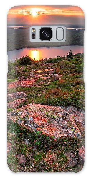 Otter Rock Galaxy Case - Acadia Sunset 2 by Emmanuel Panagiotakis