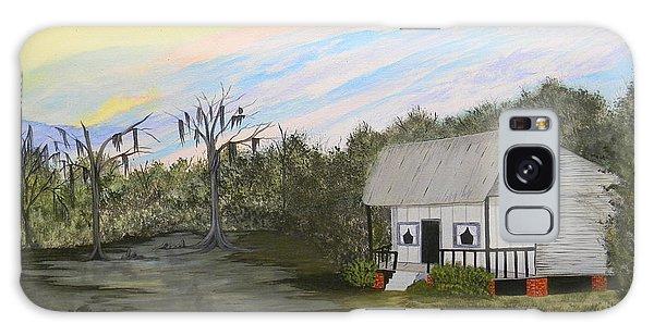 Acadian Home On The Bayou Galaxy Case