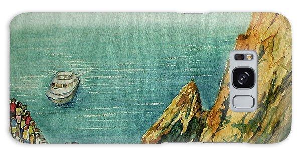 Acapulco Cliff Diver Galaxy Case
