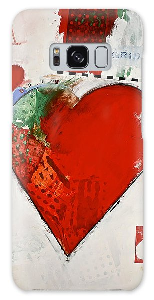 Ace Of Hearts 8-52 Galaxy Case by Cliff Spohn
