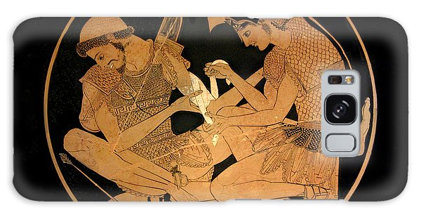 Achilles Binds The Wounds Of Patroklos Galaxy Case