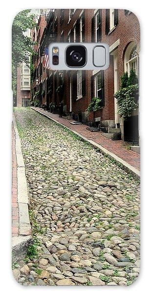 Acorn Street Boston Galaxy Case