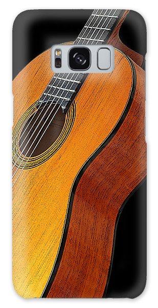 Acoustic Guitar Galaxy Case by Gill Billington