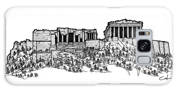 Acropolis Of Athens Galaxy Case