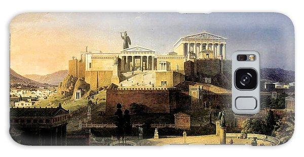 Acropolis Of Athens Galaxy Case