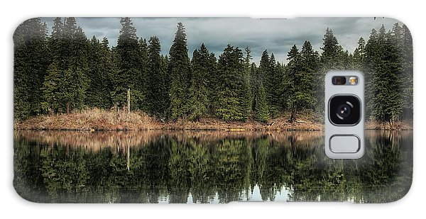 Across The Lake Galaxy Case by Belinda Greb