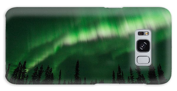 Active Aurora Bands Galaxy Case