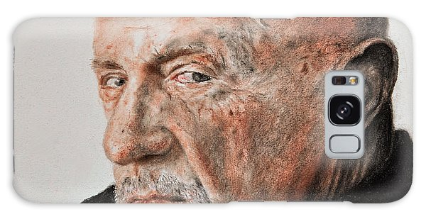 Hyper-realistic Galaxy Case - Actor Jonathan Banks As Mike Ehrmantraut In Breaking Bad by Jim Fitzpatrick
