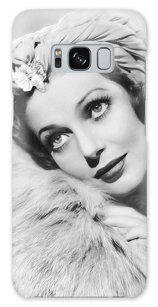 Actress Loretta Young Galaxy Case