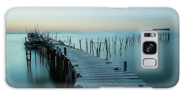 Pier Galaxy Case - Acuatic Sticks by Eugenio Pastor Benjumeda