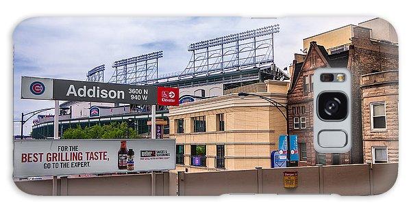 Addison Street Station Galaxy Case by Tom Gort
