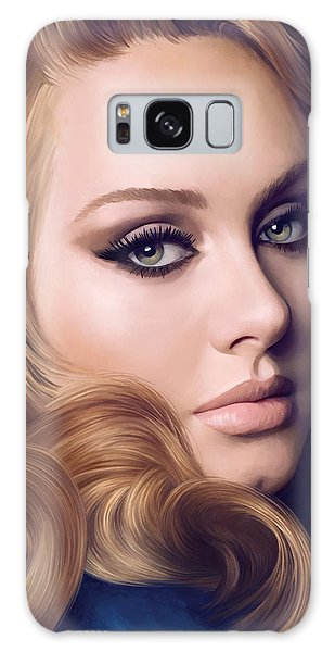 Adele Galaxy S8 Case - Adele Artwork  by Sheraz A
