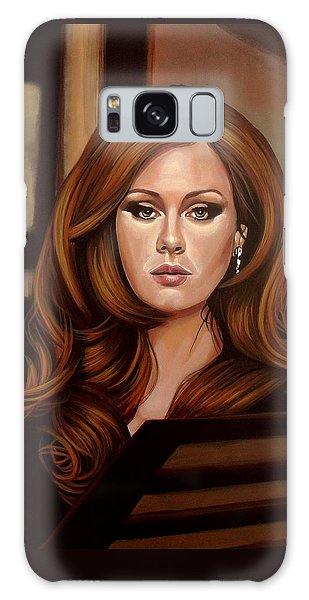 Rhythm And Blues Galaxy Case - Adele by Paul Meijering