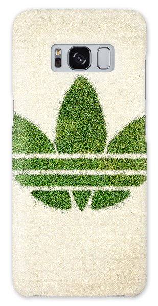 Wasted Galaxy Case - Adidas Grass Logo by Aged Pixel