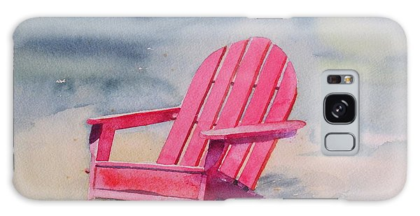 Adirondack At The Beach Galaxy Case by Ranjini Kandasamy