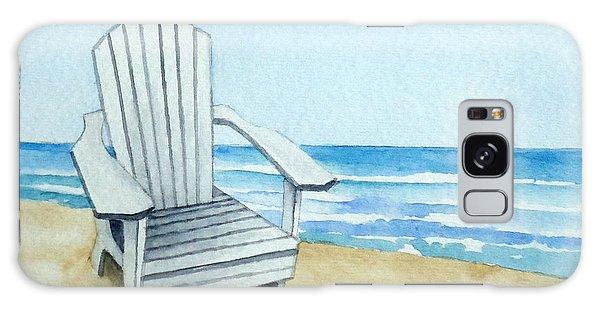 Adirondack Chair At The Beach Galaxy Case