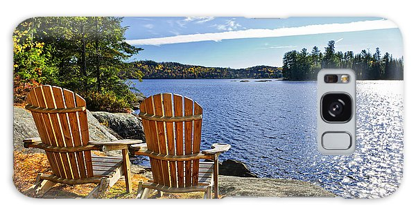 Adirondack Chairs At Lake Shore Galaxy Case