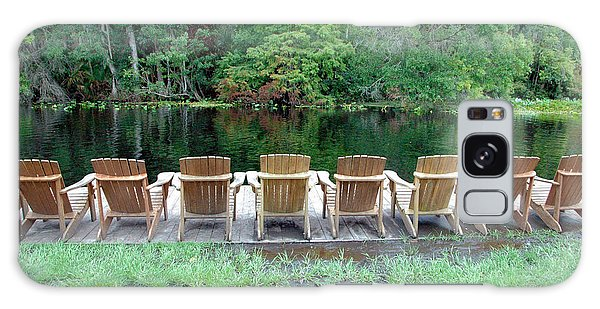 Adirondack Chairs By Lake Galaxy Case