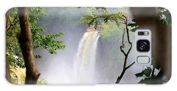 Adirondacks Waterfall Galaxy Case by Patti Whitten