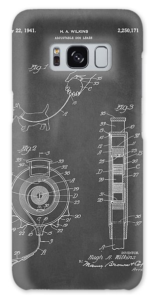 Leash Galaxy Case - Adjustable Dog Leash Patent 1941 by Patricia Lintner