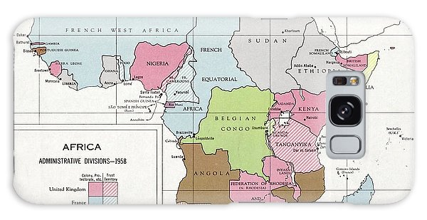 Nigeria Galaxy Case - Administrative Divisions Of Africa by Library Of Congress, Geography And Map Division