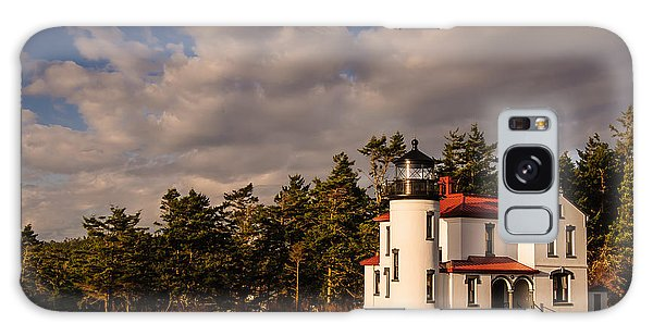 Admiralty Head Lighthouse Galaxy Case