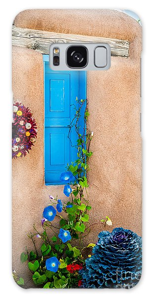 Adobe And Blue Galaxy Case by Bob and Nancy Kendrick