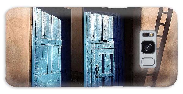 Adobe Blues Galaxy Case by Gina Savage