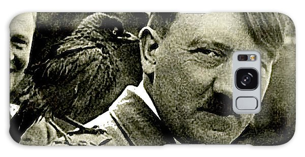 Adolf Hitler And A Feathered Friend C.1941-2008 Galaxy Case by David Lee Guss