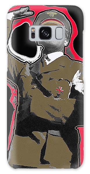Adolf Hitler Saluting 2 Circa 1933-2009 Galaxy Case