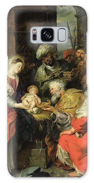 Bethlehem Galaxy Case - Adoration Of The Magi, 1626-29 Oil Canvas by Peter Paul Rubens