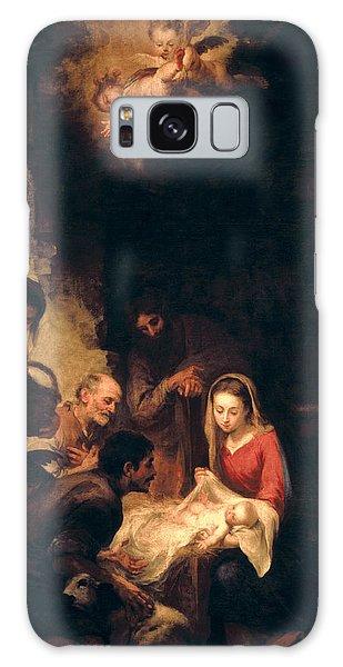 Bethlehem Galaxy Case - Adoration Of The Shepherds by Bartolome Esteban Murillo