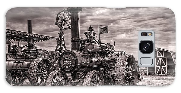 Advance Steam Traction Engine Galaxy Case by Shelly Gunderson