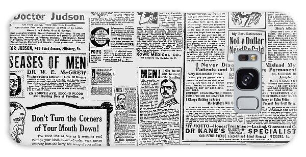 Advert - Edwardian Mens Health Galaxy Case