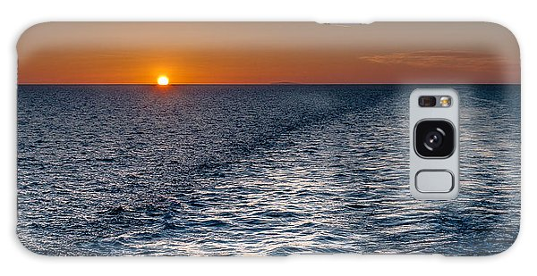 Aegean Sea Early In The Morning Galaxy Case