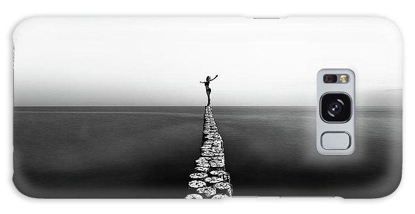 Pier Galaxy Case - Aequilibrium by Patrick Odorizzi