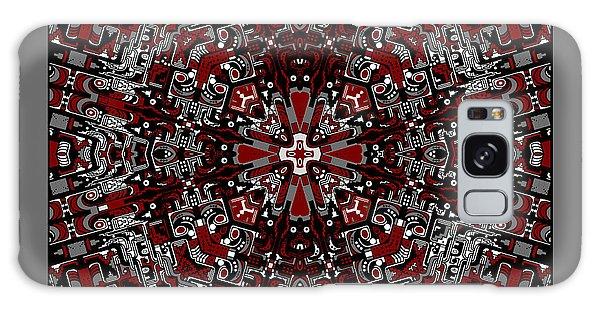 Galaxy Case featuring the digital art Aerial Kaleidoscope No 2 by Joy McKenzie