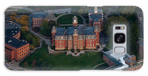 Galaxy Case featuring the photograph Aerial Of Woodburn Hall by Dan Friend