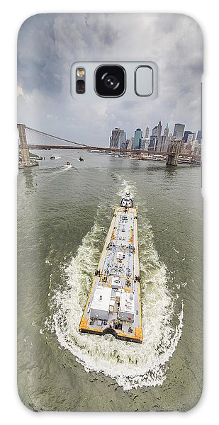Aerial View - The Barge At The East River Galaxy Case