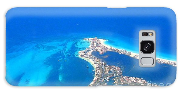 Aerial View Of Cancun Galaxy Case by Patti Whitten