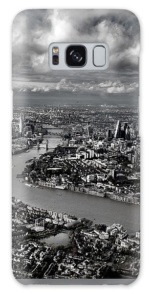 Aerial View Of London 4 Galaxy Case