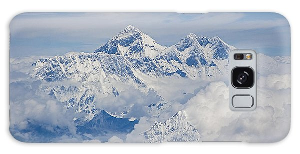 Aerial View Of Mount Everest Galaxy Case by Hitendra SINKAR