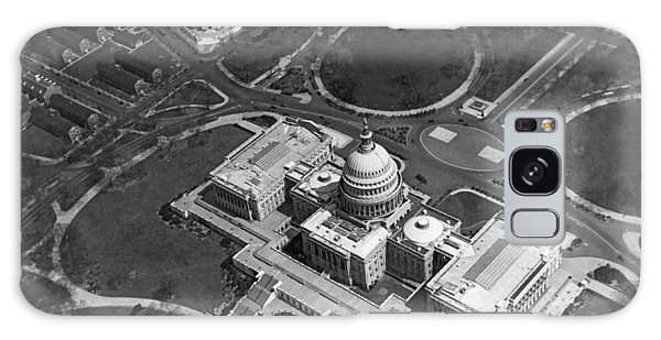 Aerial View Of U.s. Capitol Galaxy Case by Underwood Archives