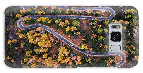 Pass Galaxy Case - Aerial View Of Vrsic Mountain Pass by Ales Krivec