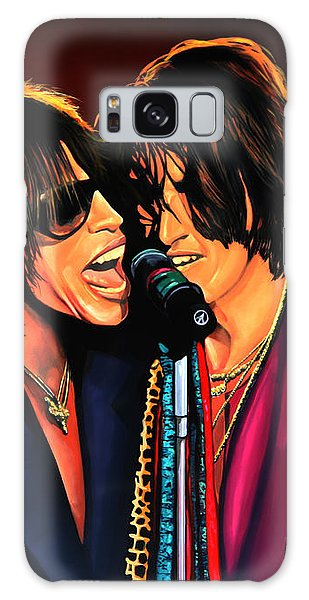 Aerosmith Toxic Twins Painting Galaxy Case by Paul Meijering