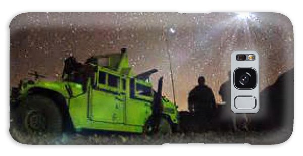 Afgan War Peace Sign Galaxy Case